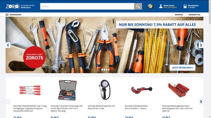 Zoro.de - Ihr Werkzeug Onlineshop Logo